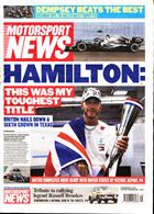 Motorsport News Magazine Issue 06/11/2019
