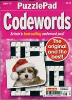 Puzzlelife Ppad Codewords Magazine Issue NO 39
