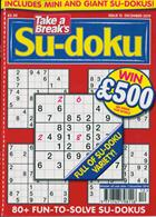 Take A Break Sudoku Magazine Issue NO 12