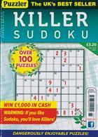 Puzzler Killer Sudoku Magazine Issue NO 165