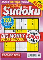 Everyday Sudoku Magazine Issue NO 168