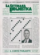 La Settimana Enigmistica Magazine Issue NO 4574