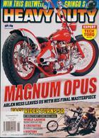 Heavy Duty Magazine Issue NO 165