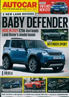 Autocar Magazine Issue 13/11/2019