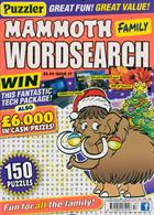 Puzz Mammoth Fam Wordsearch Magazine Issue NO 57