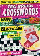 Puzzler Tea Break Crosswords Magazine Issue NO 287