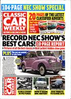 Classic Car Weekly Magazine Issue 13/11/2019
