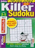 Puzzlelife Killer Sudoku Magazine Issue NO 5