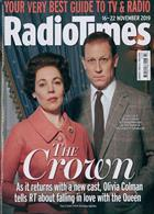 Radio Times London Edition Magazine Issue 16/11/2019