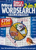 Tab Mini 2 In 1 Wordsearch Magazine Issue NO 19