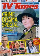 Tv Times England Magazine Issue 11/01/2020
