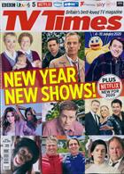 Tv Times England Magazine Issue 04/01/2020