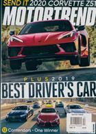 Motor Trend Magazine Issue DEC 19