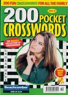 200 Pocket Crosswords Magazine Issue NO 59
