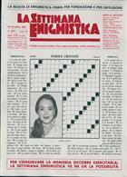 La Settimana Enigmistica Magazine Issue NO 4575