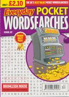Everyday Pocket Wordsearch Magazine Issue NO 87