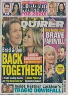 National Enquirer Magazine Issue 13/01/2020