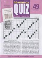 Domenica Quiz Magazine Issue NO 49