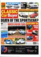 Classic Car Buyer Magazine Issue 20/11/2019