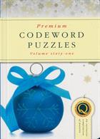 Premium Codeword Puzzles Magazine Issue NO 61