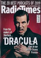 Radio Times London Edition Magazine Issue 23/11/2019