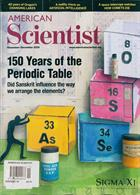 American Scientist Magazine Issue NOV-DEC