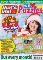 Thats Life We Love Puzzles Magazine Issue NO 6