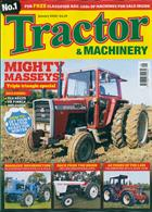 Tractor And Machinery Magazine Issue JAN 20