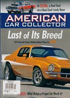 American Car Collector Magazine Issue NOV-DEC