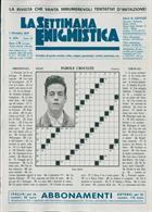 La Settimana Enigmistica Magazine Issue NO 4576
