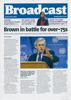 Broadcast Magazine Issue 22/11/2019