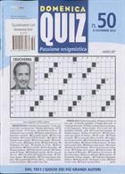 Domenica Quiz Magazine Issue NO 50