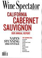 Wine Spectator Magazine Issue NOV 19