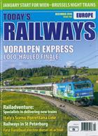 Todays Railways Europe Magazine Issue DEC 19