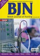 British Journal Of Nursing Magazine Issue VOL28/21