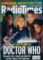 Radio Times London Edition Magazine Issue 07/12/2019