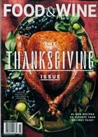 Food & Wine Usa Magazine Issue NOV 19