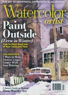 Watercolor Artist Magazine Issue DEC 19