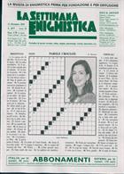 La Settimana Enigmistica Magazine Issue NO 4577