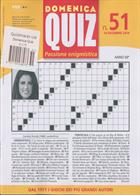 Domenica Quiz Magazine Issue NO 51