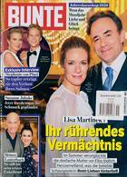 Bunte Illustrierte Magazine Issue NO 51