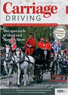 Carriage Driving Magazine Issue DEC 19