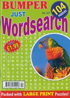 Bumper Just Wordsearch Magazine Issue NO 217