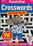 Puzzlelife Crossword Super Magazine Issue NO 20