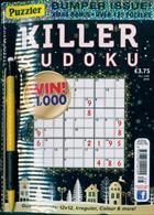 Puzzler Killer Sudoku Magazine Issue NO 166