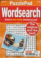 Puzzlelife Ppad Wordsearch Magazine Issue NO 45