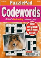 Puzzlelife Ppad Codewords Magazine Issue NO 40