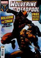 Wolverine And Deadpool Magazine Issue NO 10