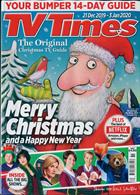 Tv Times England Magazine Issue 21/12/2019