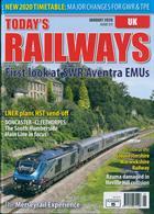 Todays Railways Uk Magazine Issue JAN 20